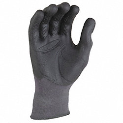 Mechanics Gloves, Grey, L/XL, PR
