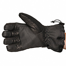 Cold Protection Gloves, L, Black/Barley, PR