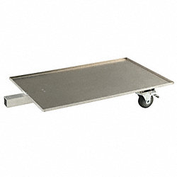 Mobile Platform Tow Cart, 100lb Load Cap