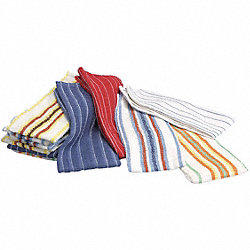 Towel, Terry, 15x25, Multi-Color, PK 12