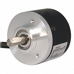 Encoder, Shaft, NPN Open, Dia 6mm, 60 PPR
