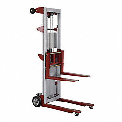 Invertible Fork Material Lift, 400 lb Cap