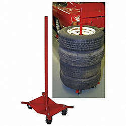 Auto Dolly Tire Attachment