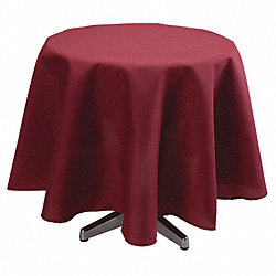 Tablecloth, 72 Dia., Burgundy