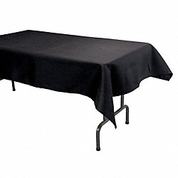 Tablecloth, 52x96, Black