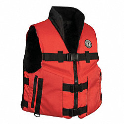 Life Vest, Red/Black, 3XL