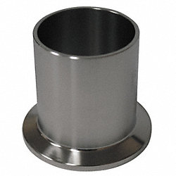 Ferrule, 1/2In, Clamp x Orbital Weld, SS