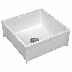 Mop Sink,White,36 In L - Mop Sinks - 11U26365M - Grainger Industrial ...