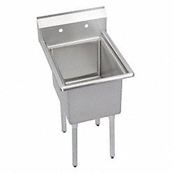 Scullery Sink, SingleBowl, Floor Mount