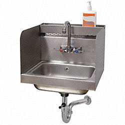 Hand Sink With Utility Tray
