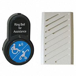 ADA Push Button Alert, Bigbell Basic