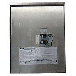 Automatic Transfer Switch, 120/240V, 24InH