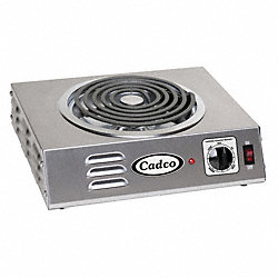 Hot Plate, Single, Hi-Power, Tubular