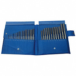 Chucking Reamer Sets, 1/16In- 1/2In, 15pc