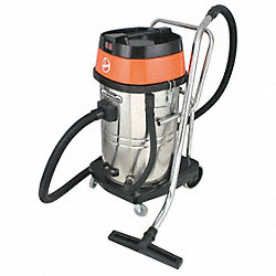 Industrial Wet/Dry Vac, 20 Gal, Steel Tank