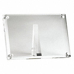 Card Holder, Rectangle, 4x1-1/4x2-1/2