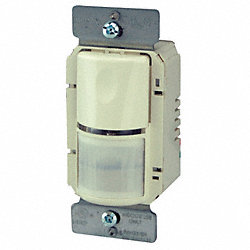 Occupancy Sensor, PIR, 800/1200W, Lt.Almond