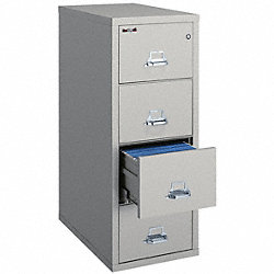 Vertical File, 4 Drawer, Letter