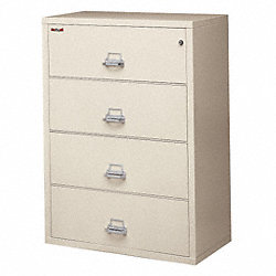 Lateral File, 4 Drawer, 31-3/16 In. W