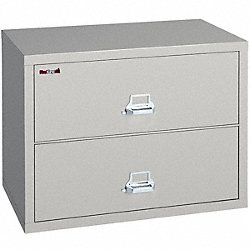 Lateral File, 2 Drawer, 37-1/2 In. W