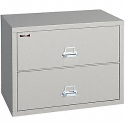 Lateral File, 2 Drawer, 44-1/2 In. W