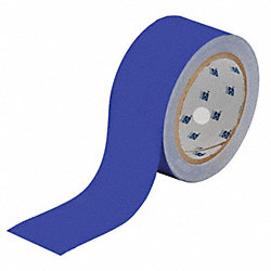 Floor Marking Tape, Roll, 2In W, 100 ft. L