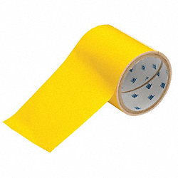Floor Marking Tape, Roll, 4In W, 100 ft. L