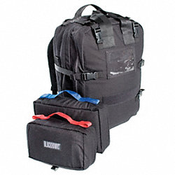 Medical Pack, Black, 20 x 13 x 6 In