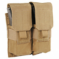 Double Mag Pouch, Coyote Tan, M4/M16 Mags