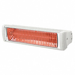 Electric Infrared Heater, 5120 BtuH, 240V