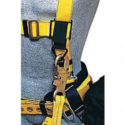 Lanyard Keeper, Black, 5-3/8 In. L