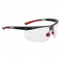 Safety Glasses, Clear Lens, Half Frame