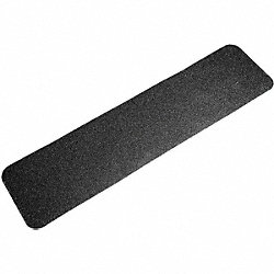 Antislip Tread, Black, 6 In x 2 ft., PK10