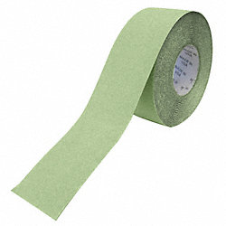 Antislip Tape, White/Green, 6 In x 60 ft.
