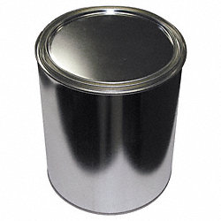 Paint Can, Unlined, Gallon, Silver