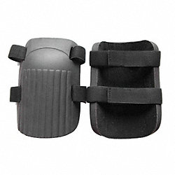 Knee Pads, NonSkid, Foam, 1 Sz Fits All, 1PR