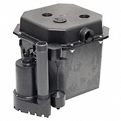 Sink Pump System, 1/3 HP, 115V, Cast Iron