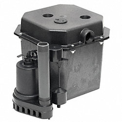 Sink Pump System, 1/2 HP, Thermoplastic