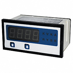 Digital Panel Meter, AC Current, 0-5 AC A