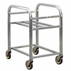 Bin Cart, Capacity 8 Bushel, Ht 23-1/2 In