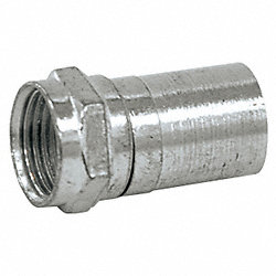 Coupler, Cable, F-Type, RG6, PK10