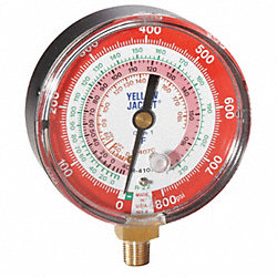 Pressure Gauge, High Side, 3-1/8 In