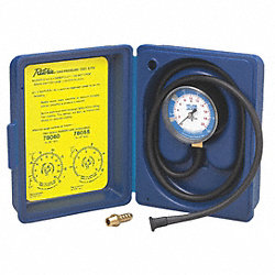 Gas Pressure Test Kit, 0 to 35 In WC