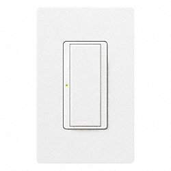 Wall Switch, White, 1/4 HP, 8 Amps