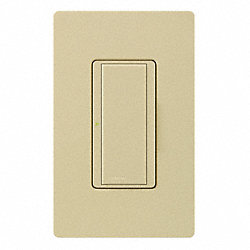Wall Switch, Ivory, 1 Pole, 6 Amps