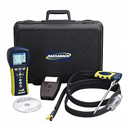 Combustion Analyzer Kit, O2, CO