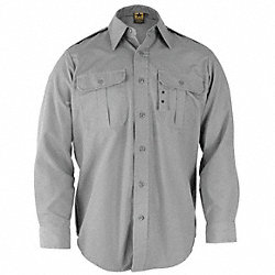 Tactical Shirt, Gray, Size XL Reg