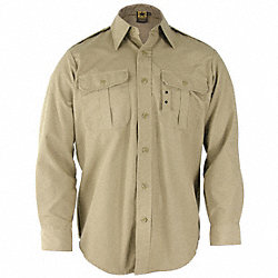 Tactical Shirt, Khaki, Size XL Long