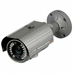 PIR BulletCamera, Indoor/Outdoor, 2.8-12mm