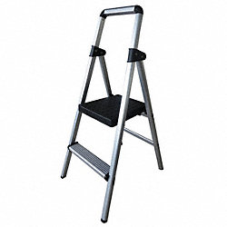 Platform Stepladder, 41 In. H, 300 lb.